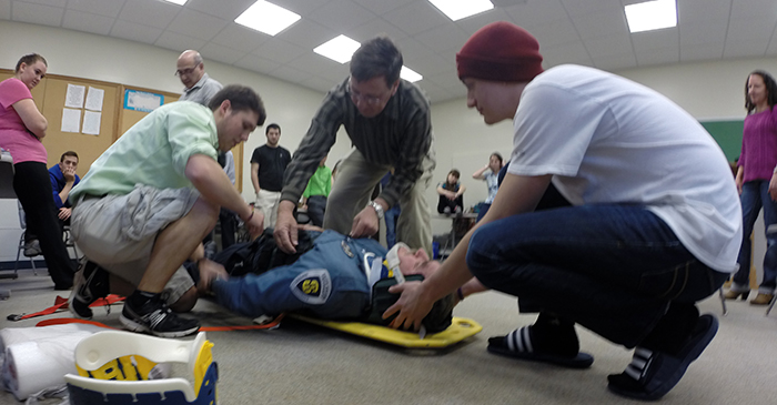 EMT training has students, security officers in pursuit of valuable ...