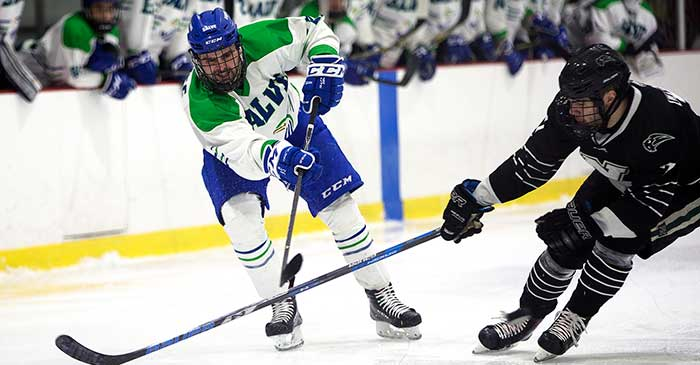 Men's ice hockey advances to Frozen Four for first time in ...