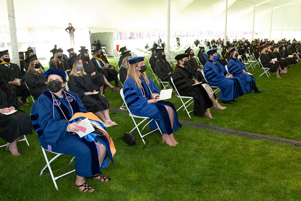 University awarded 13 doctorates during Commencement