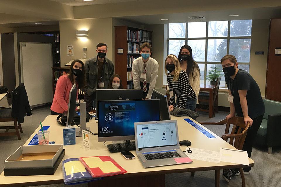 Salve Regina students complete successful tax season with AARP Tax-Aide program