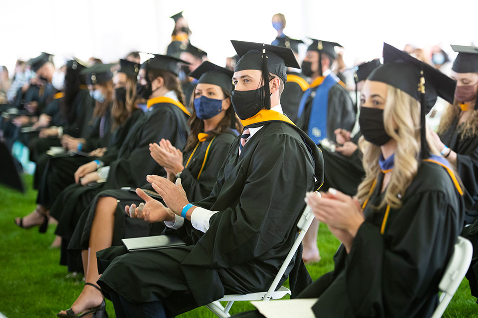 Celebrating University employees who graduated with a degree in 2021, 2020