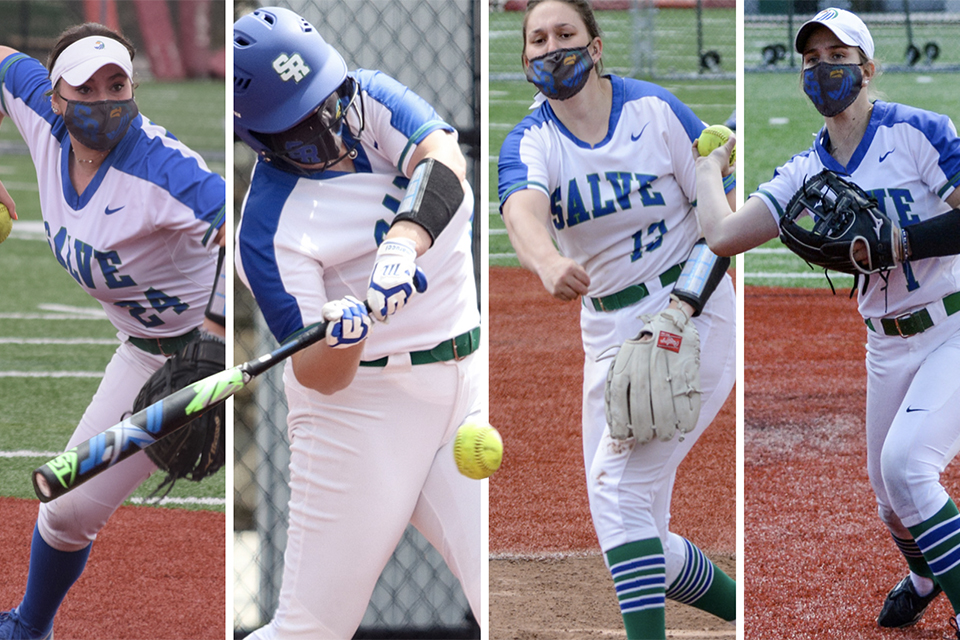 Four Salve Regina students earn All-CCC nods for softball