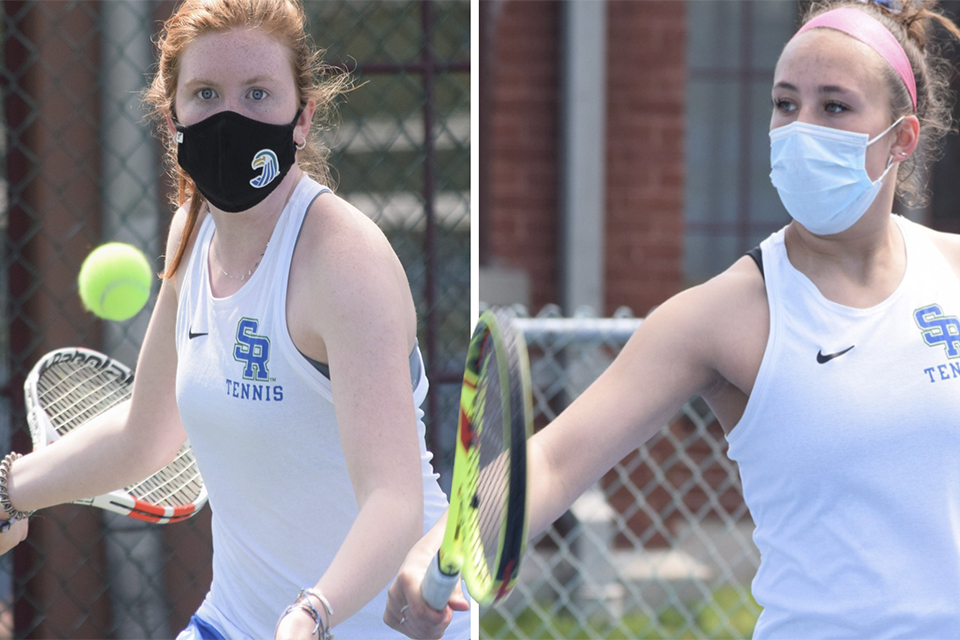 Entire team, two students win All-CCC recognition for women's tennis