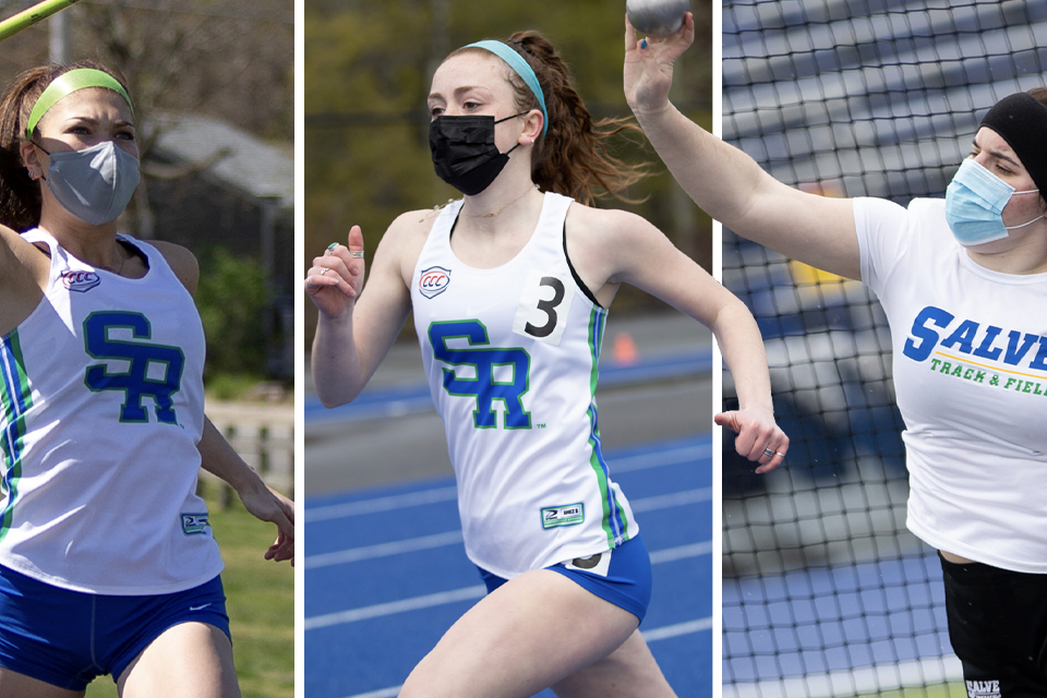 Four students headline Seahawks as All-CCC performers in women's track and field